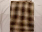 Longaberger Liner, Corded Khaki Check, Fits The Ho Sort And Store Hamper, New