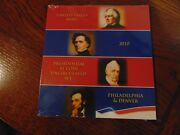 Unopened 2010 Presidential 1 Uncirculated Coin Set  8 Coins  P And D Mints