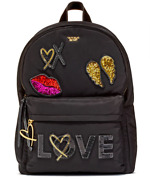 Victorias Secret Runway Patch Backpack Bling Back Pack Limited Edition Nwt