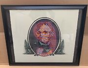Ron English Abraham Lincoln Lithograph Print Artist Proof 1/15 Numbered / Signed