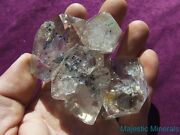 Aaa___high Quality___large Water Clear Herkimer Diamond Quartz Crystal Cluster