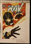 The Ray 6 The Cover And All 22 Interior Pages Colorguide Production Art-1994