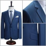 Perfect Fit Guarantee Men One Button Slim Suit Formal Business Wedding All Sizes