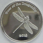 50 1 Gram .999 Pure Silver Round And039year Of The Dragonflyand039 2b