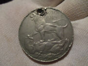 Great Britain England Medal 1945 King George Vi India War Lion Top Of Dragon