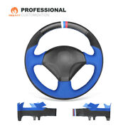 Mewant Suede Leather Car Steering Wheel Cover For Honda S2000 Civic Si Acura Rsx