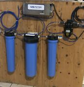 Reverse Osmosis Water Filter System 800 Gpd With Booster Pump And Uv Lamp