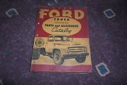 1953 Ford Truck Chassis And Body Parts And Accessories Catalog Vg Worldwide