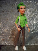 Monster High Deuce Gorgon Dawn Of The Dance Doll With Fashion Outfit Clothes Lot