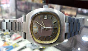 Rare Girard Perregaux Gyromatic Steel Automatic Mens Vintage Watch