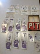 Vintage 1919 Pit Card Game - W/box And Instructions - Incl Bull And Bear Cards