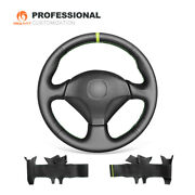 Mewant Genuine Leather Car Steering Wheel Cover For Honda S2000 Civic Si Insight