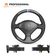 Mewant Suede Leather Car Steering Wheel Cover For Honda S2000 Civic Si Insight