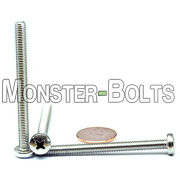 Qty - 1000 M5 X 60mm Din 7985a Phillips Pan Machine Screw A2 Stainless Steel