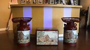 Vintage Tractor Seats On Milk Cans With Vintage Cooler And Custom Arts
