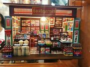 Dolls House Mini Thai Grocery Store Miniature Shop Handcraft Grocery Shopping