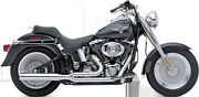 Cobra Chrome Power Pro Hp Motorcycle Exhaust System 86-06 Harley Softail Flstf