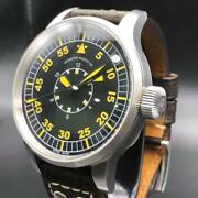 Military Editions Azimuth B-uhr 47mm Case Back Open Automatic Watch Swiss Made