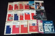 Complete Set Ac Delco Parts Catalog 1950's To 1980's 18 Catalogs