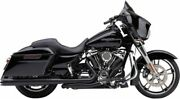 Cobra Exhaust Black Pro Chamber Head Pipes 2017-19 Harley Touring - 6255rb