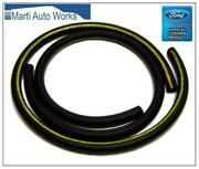 1966 1967 1968 Mustang Heater Hoses With Yellow Stripe - Marti Auto Works