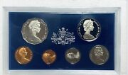 1976 Royal Australian Mint 6 Coin Proof Set - With Foam And Coa