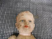 Antique Composition Baby Doll Cloth Body Jointed Old Vtg Dolls Estate Buy