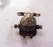 Starter Solenoid From 40 Hp Mercury Outboard Motor 1970and039s