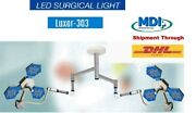 Led Surgical Twin Ceiling Ot Light Led 36 + 36 Operating Examination Light Luxar