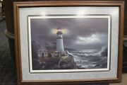 Jesse Barnes The Light Keeper Framed Picture By A Professional