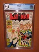 Batman 153 Cgc 9.4 White Pages 5th Best Cgc-graded Copy - Ever 12 Pix Insured