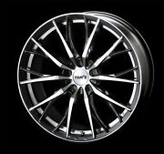 Tom's Th01 Wheels Rims 18x7.0j +50 5x100 For Prius/86/brz Set Of 4 From Japan