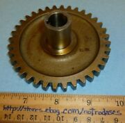 Lycoming P/n 68467 Gear Shaft, Oil Pressure And Scavenge Drive Aviation/aircraft