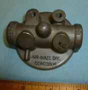 01w03805 Fuel Gascolator Head Assembly Fits Piper And Various Other Aircraft