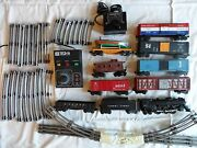 Lot Lionel Train Set Extras. Has Been Stored For Years. Works. Steam Engine