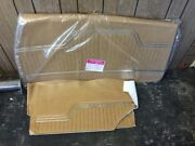 1970-1972 Chevy Chevelle Front And Rear Unassembled Door Panels