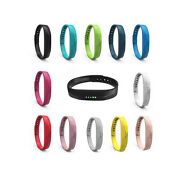 10pcs Silicone Replacement Wrist Band + Metal Buckle For Fitbit Flex 2 Tr