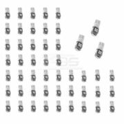 Brand New - Auto Use 50 Pcs White T10 5-smd Wedge 5050 Led Light Bulbs Xenon