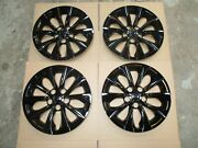 Brand New Set Camry 2015 2016 2017 Hubcaps 16 Wheel Covers Black 61175