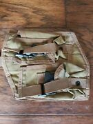 Pre-msa Paraclete Horizontal Quad R Or L Pouch Molle Coyote Cag, Nsw, Marsoc