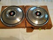 Nos 1969 Buick Special Sport Wagon Hubcaps 981442