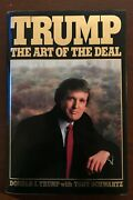 Rare 1987 First Edition Copy Of The Art Of The Deal Signed By Donald Trump