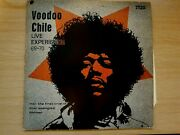 Voodoo Chile Live Experience 69-70 Jimi Hendrix Germany 1969 Lp No Scratches