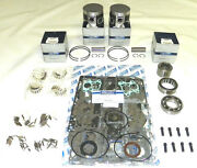 Wsm Yamaha 115 / 130 Hp V4 Platinum Rebuild Kit 100-270-14p - .040 Size Only