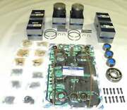 Wsm Mercury 175- 225 Hp 2.4l Power Head Rebuild Kit .010 Over And03978-and03991- 100-10-11