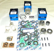 Wsm Mercury 50 / 60 Hp 98and039-05and039 Rebuild Kit 100-06-10 - Std Size - 705-850026t 1