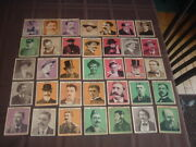 1935 R36 Fleer Gum Co. Cops And Robbers Complete Full Set Of 35 Cards