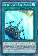 Outrigger Extension - Inch-en012 - Super Rare - 1st Edition Near Mint Ayasarchiv
