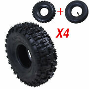 4pcs 4.10- 4 Tyre Tire And Tube Front Rear Tyres For Electric Gas Scooter Atv