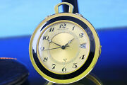 Rare Genuine Jaeger-lecoultre Memovox Date Alarm Stand/pocket Watch From 1960s